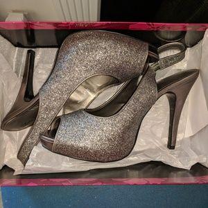 Stiletto Glitter Shoes